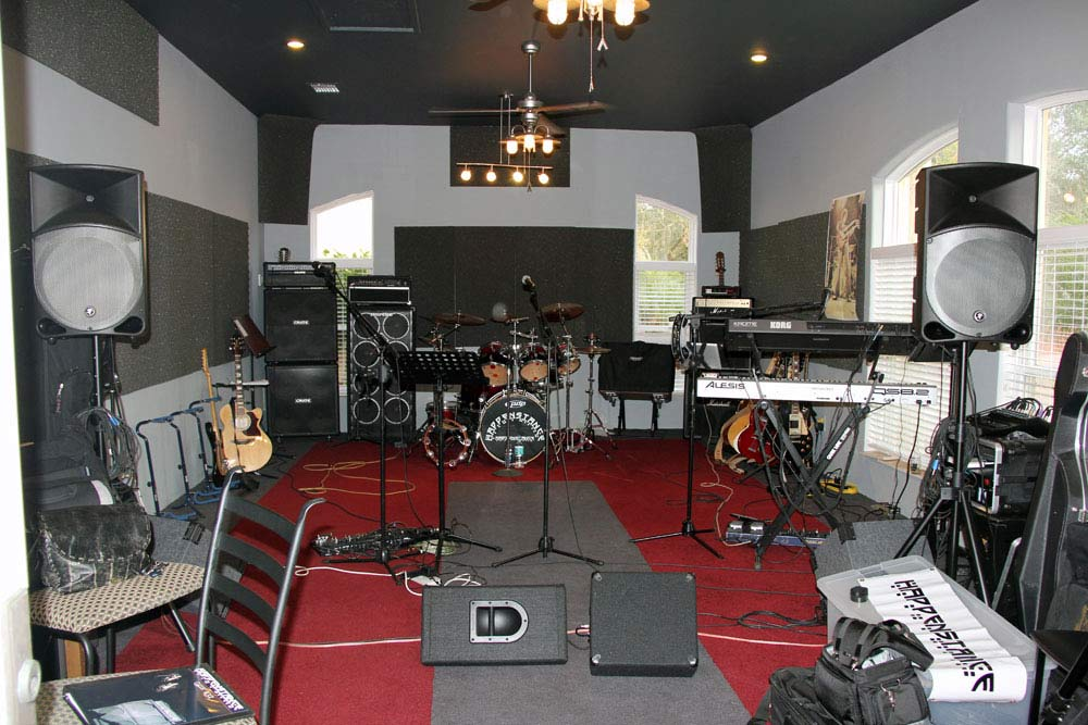 band room in home