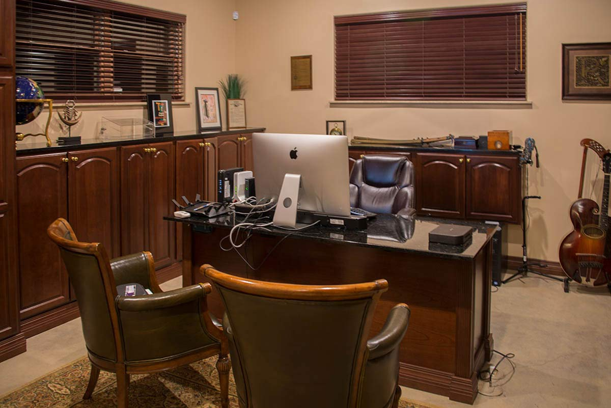 executive office in home