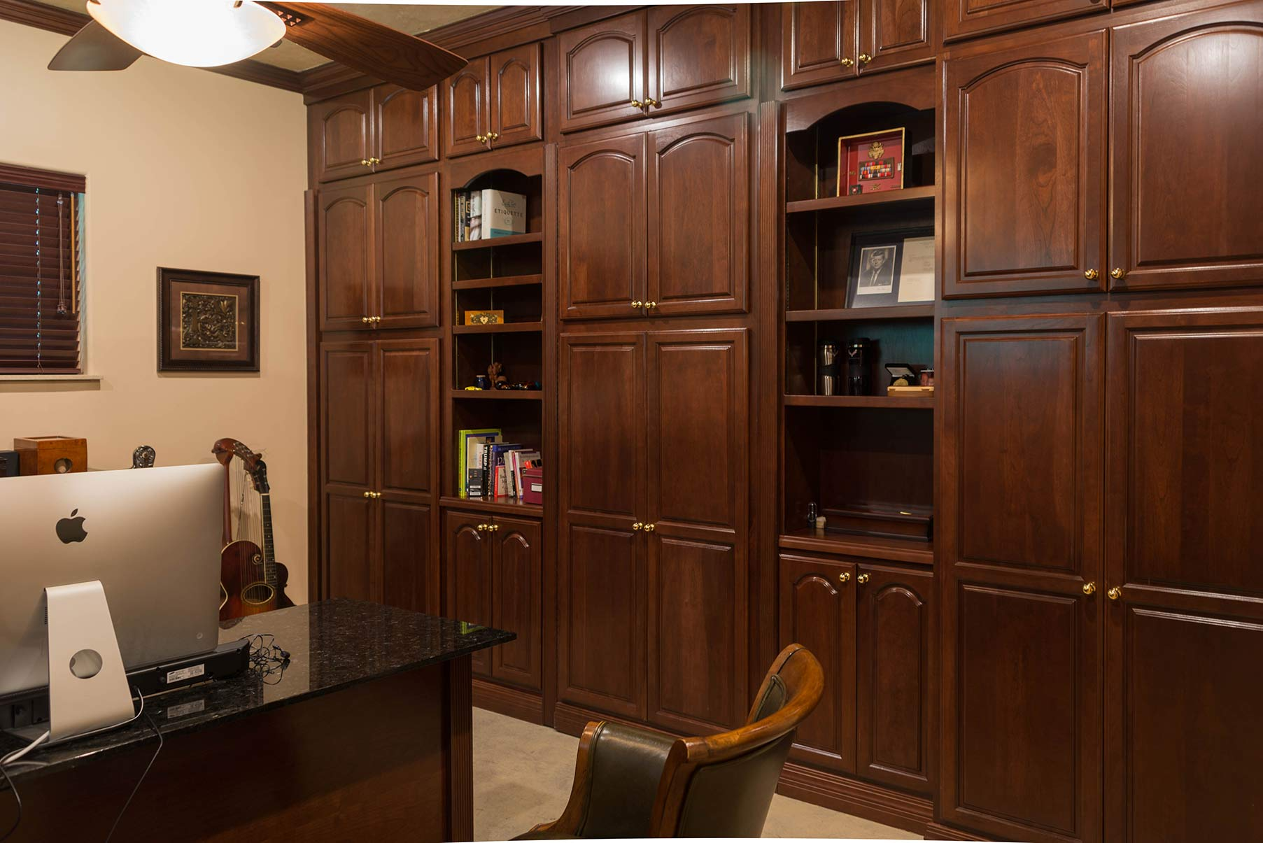 executive office in estate home