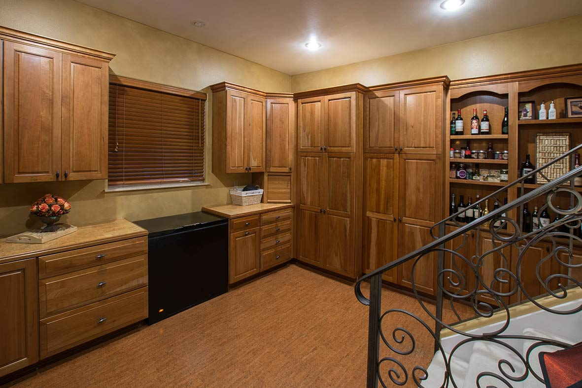 Pantry in estate home in Florida for sale